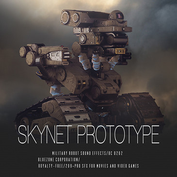 Skynet Prototype: Military Robot Sound Effects