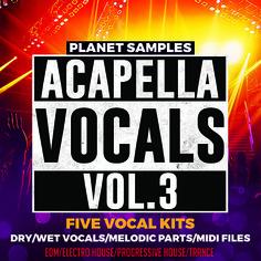 Planet Samples: Acapella Vocals Vol 3