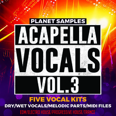 Planet Samples: Acapella Vocals Vol 3