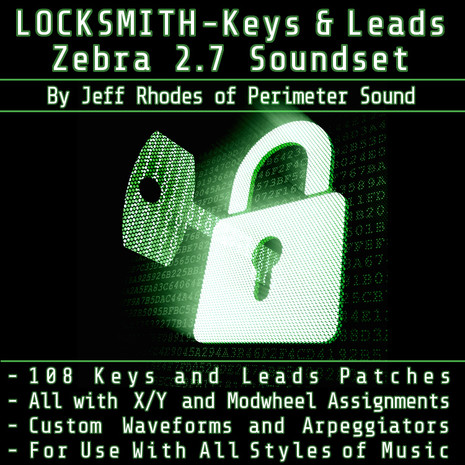 Locksmith Keys & Leads: Zebra Patches Collection