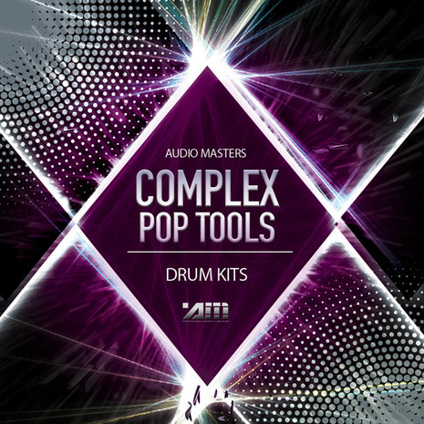 Audio Masters: Complex Pop Tools Drum Kits
