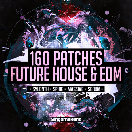 160 Future House & EDM Patches