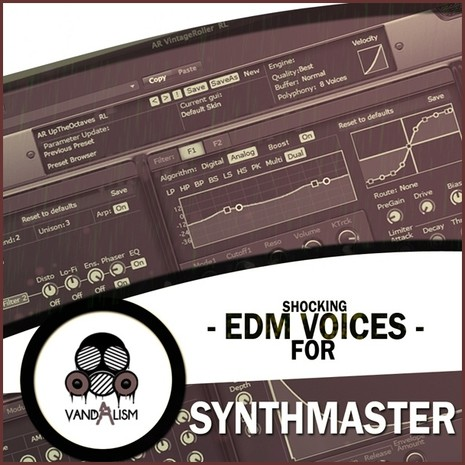 Shocking EDM Voices For Synthmaster