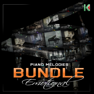 Kryptic Piano Melodies: Emotional Bundle