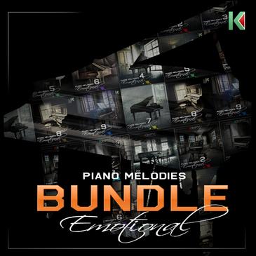 Kryptic Piano Melodies: Emotional Bundle