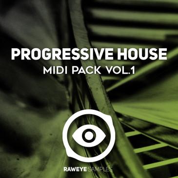 Progressive House MIDI Pack Vol 1