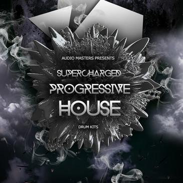 Supercharged Progressive House: Drum Kits