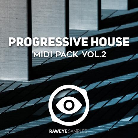 Progressive House MIDI Pack Vol 2