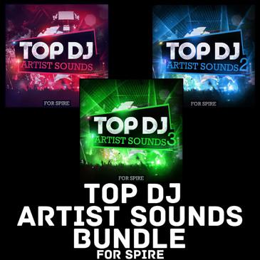 Top DJ Artist Sounds Bundle For Spire