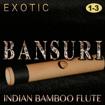 Exotic Bansuri Bundle (Vols 1-3)