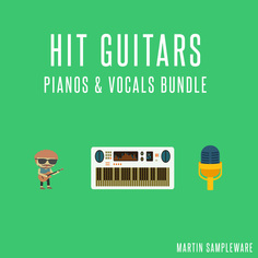 Hit Guitars: Pianos & Vocals Bundle