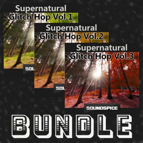 SuperNatural Glitch Hop Triple Bundle