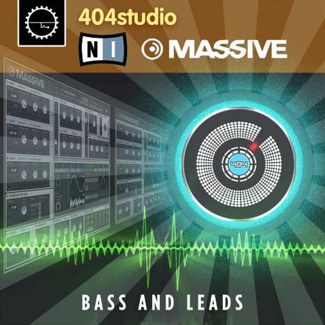404 Studio: NI Massive: Bass & Leads
