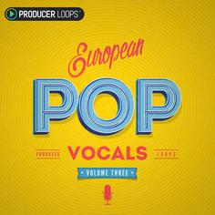 European Pop Vocals Vol 3