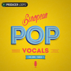 European Pop Vocals Vol 3