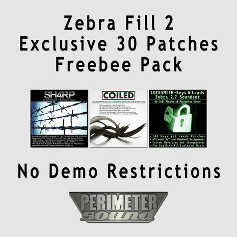 Zebra Fill 2: Exclusive Free Patches