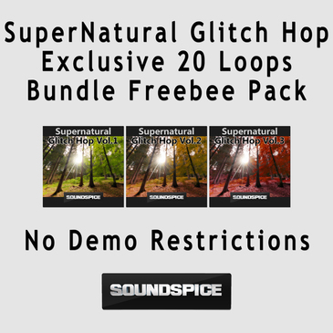 SuperNatural Glitch Hop: Exclusive Free Loops