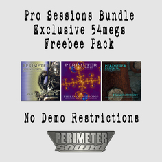 Pro Sessions Triple Bundle: Exclusive Freebee Pack