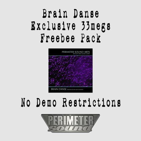 Brain Danse: Exclusive Freebee Pack