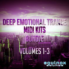 Deep Emotional Trance MIDI Kits Bundle (Vols 1-3)