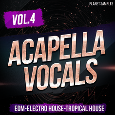 Planet Samples Acapella Vocals Vol 4