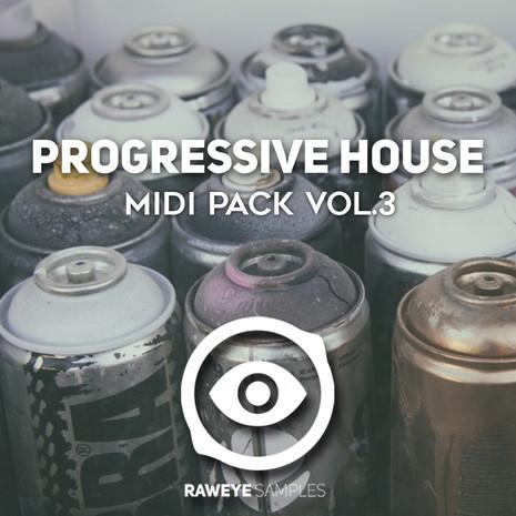 Progressive House MIDI Pack Vol 3