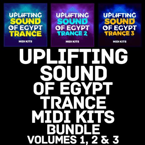 Uplifting Sound Of Egypt Trance MIDI Kits Bundle (Vols 1-3)