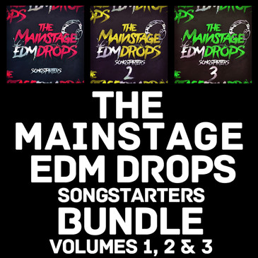 The Mainstage EDM Drops Songstarters Bundle (Vols 1-3)