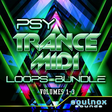Psy Trance MIDI Loops Bundle (Vols 1-3)