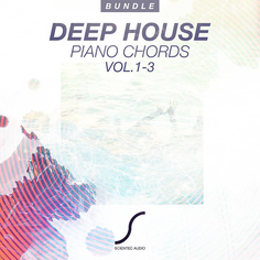 Deep House Piano Chords Bundle (Vols 1-3)