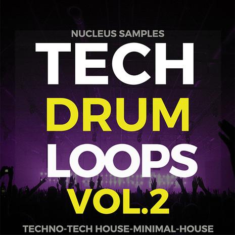 Tech Drum Loops Vol 2