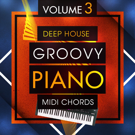 Deep House Groovy Piano MIDI Chords 3