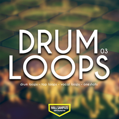 Hall Samples: Drum Loops Vol 3