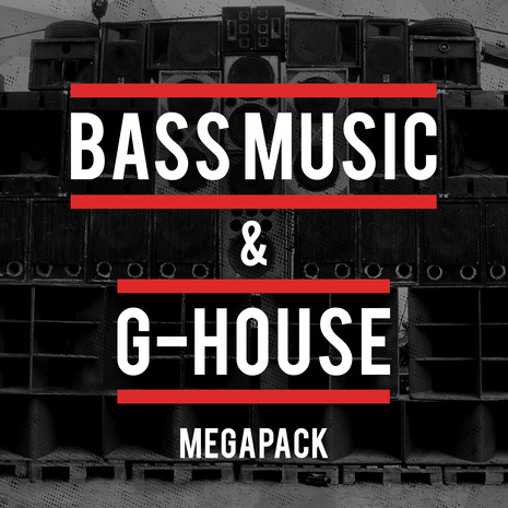 Bass Music & G-House Mega Pack