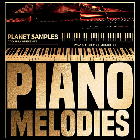 Planet Samples: Piano Melodies