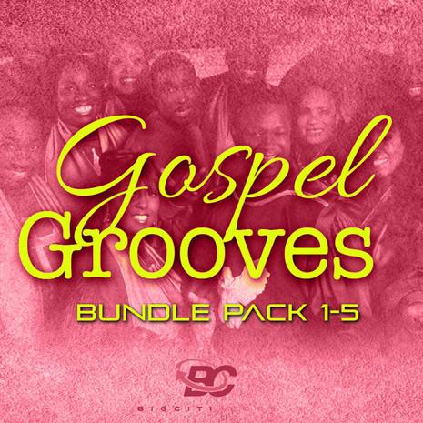 Gospel Grooves Bundle (Vols 1-5)