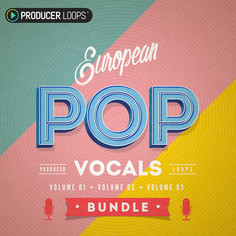 European Pop Vocals Bundle (Vols 1-3)