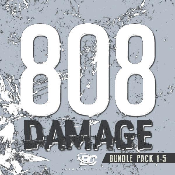 808 Damage Bundle Pack (Vols 1-5)