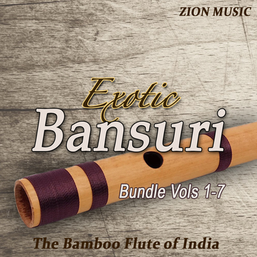 Exotic Bansuri Bundle (Vols 1-7)