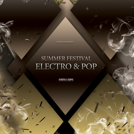 Summer Festival Electro And Pop: Synths