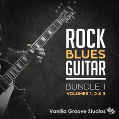 Rock Blues Guitar Bundle (Vols 1-3)