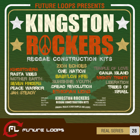 Kingston Rockers: Reggae Construction Kits