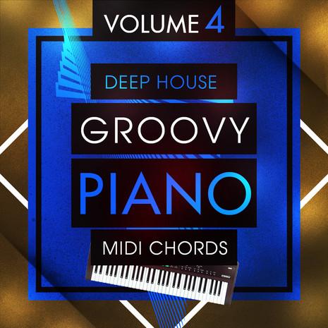 Deep House Groovy Piano MIDI Chords 4