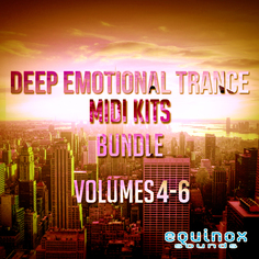 Deep Emotional Trance MIDI Kits Bundle (Vols 4-6)