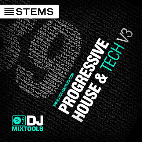 DJ Mixtools 39: Progressive House & Tech Vol 3