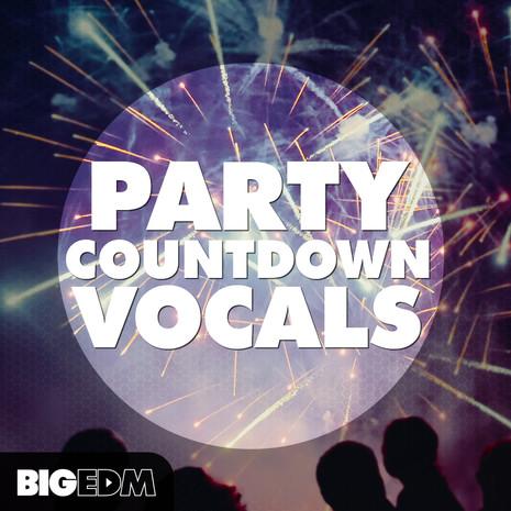 Big EDM: Party Countdown Vocals