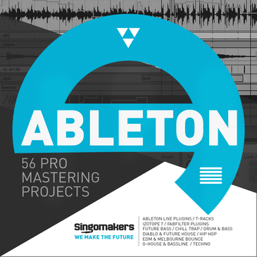 56 Ableton Pro Mastering Projects