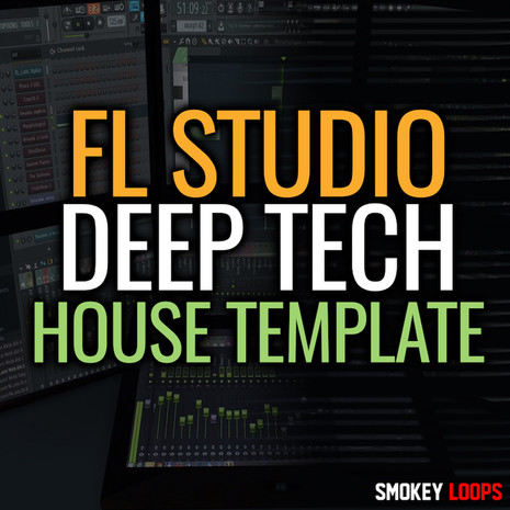 FL Studio Deep Tech House Template