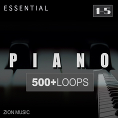 Essential Piano Loops Bundle (Vols 1-5)