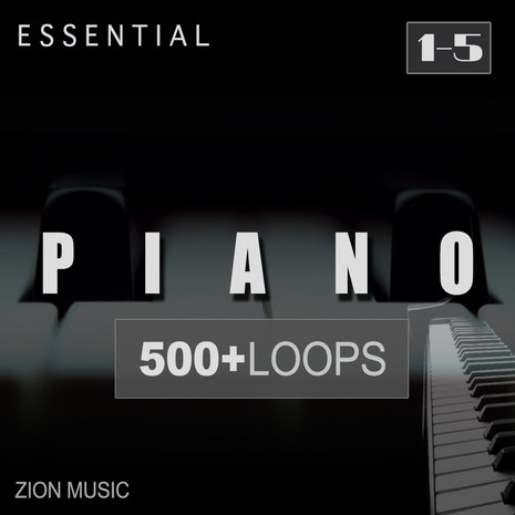 Essential Piano Loops Bundle (Vols 1-5)